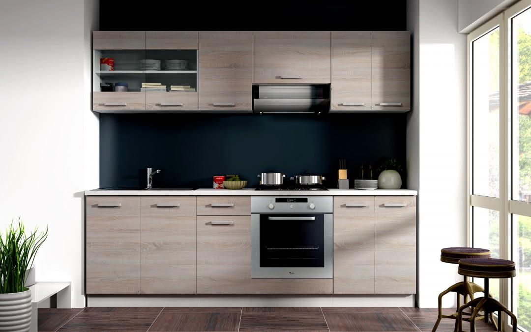billige k chenzeile. Black Bedroom Furniture Sets. Home Design Ideas