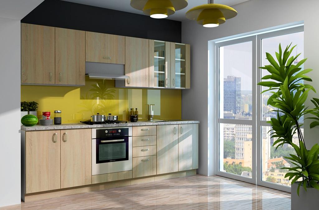 Die Küche der Woche: SARA SONOMA 260 cm in edler Optik